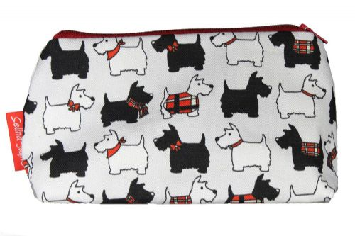 Selina-Jayne Scotty Dogs Limited Edition Designer Cosmetic Bag